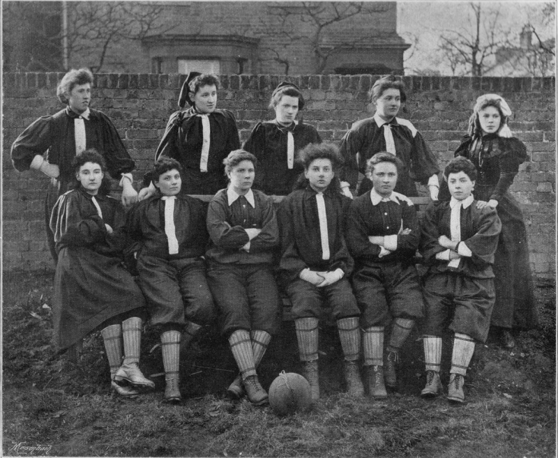 Crouch End 1895 - the North team