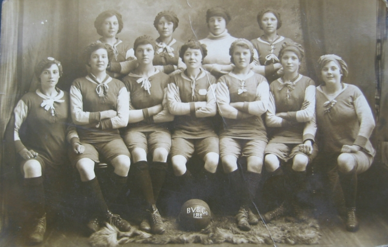 Bolckow Vaughan ladies FC 1918